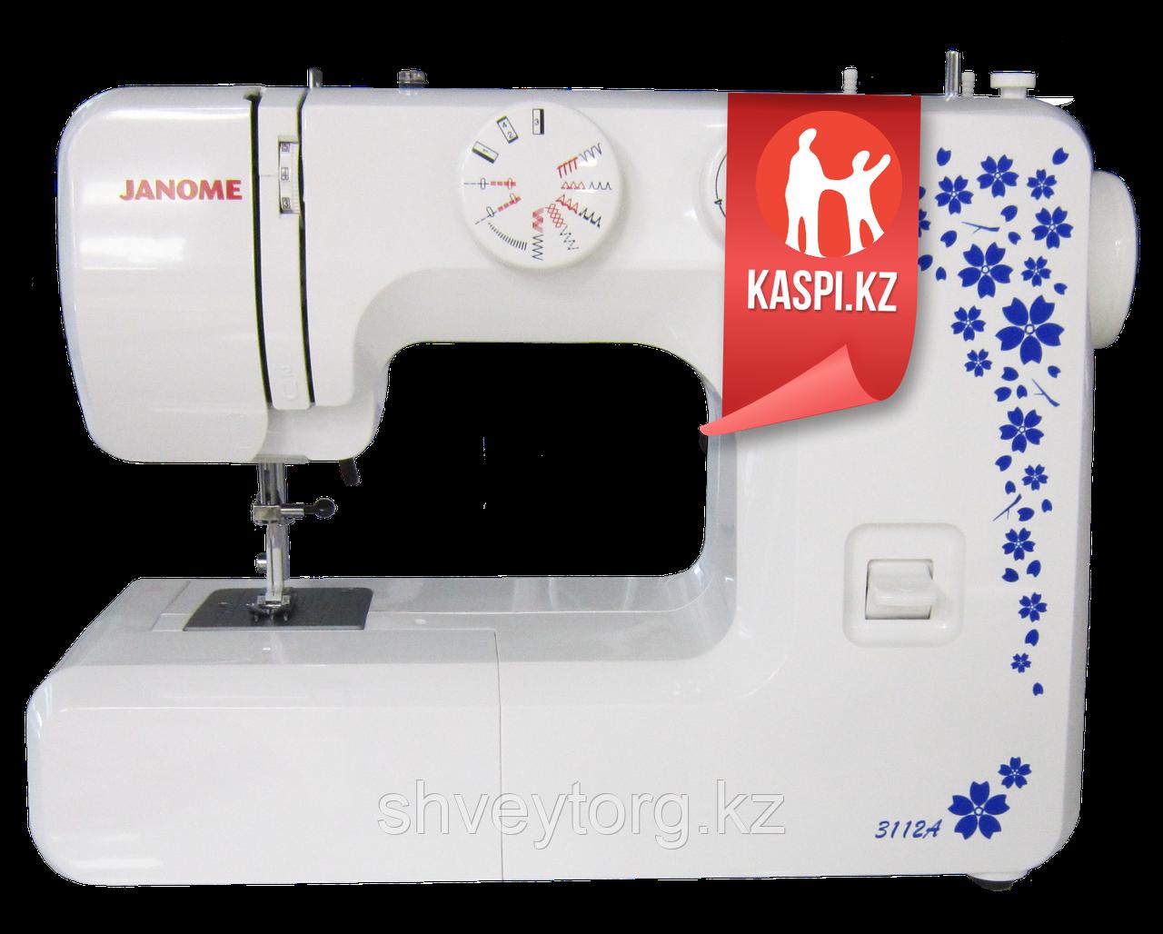 Бытовая швейная машинка Janome 3112 А