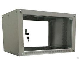 "Шкаф 19"" телекоммуникационный навесной N-1 6U 600х600"