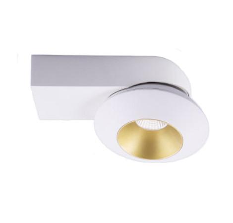 LED Спот Дизайнерский Накладной, Открытого монтажа.