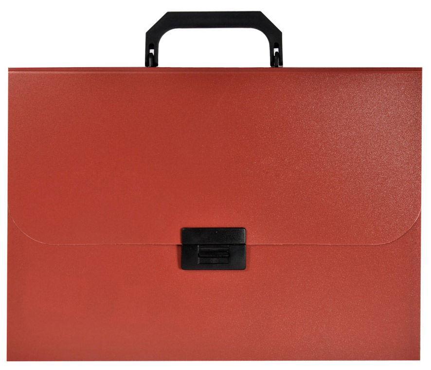 Портфель пластиковый А4 красный Basic