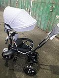 Детский трехколесный велосипед с поворотным сиденьем (6188), фото 9