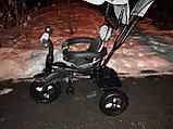Детский трехколесный велосипед с поворотным сиденьем (6188), фото 10