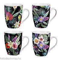 MILLIMI Тропический рай Кружка 380мл, керамика, 4 дизайна 806-338