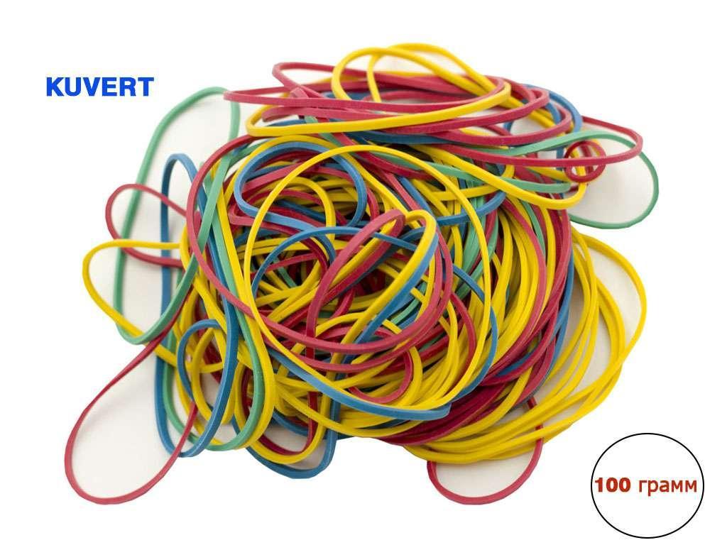 Резинки для денег Kuvert, 200 гр, цветные