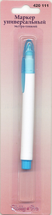 """Маркер для тканиводой смывающийся экстра-тонкий """"Hobby&Pro"""" 420111"""