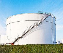 Защита нефтяных резервуаров
