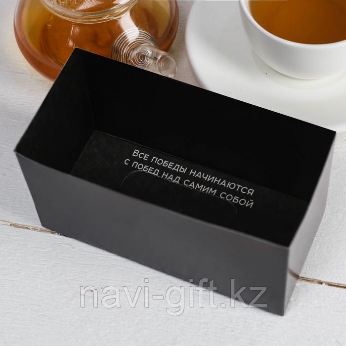 """Чай чёрный с предсказанием 40 пакетиков без ярлычка """"Для отчаянных мужчин"""" - фото 2"""