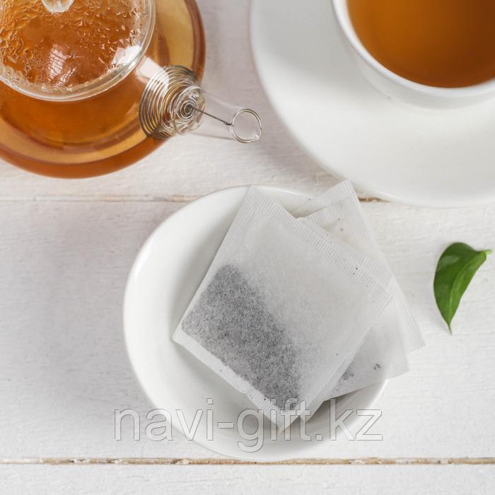 """Чай чёрный с предсказанием 40 пакетиков без ярлычка """"Для отчаянных мужчин"""" - фото 3"""