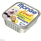 MONGE DOG FRUIT Паштет свинина с ананасом 100 гр  (1325)