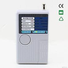 Универсальный тестер LAN, USB,BNC,RJ11
