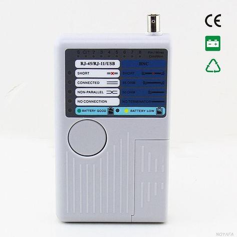 Универсальный тестер LAN, USB,BNC,RJ11, фото 2