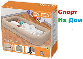 Детский надувной матрас Intex 66810 с бортиками, фото 3