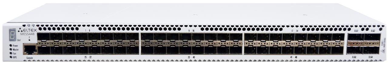 Ethernet-коммутатор агрегации 10G  Eltex MES5448