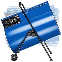 Пушка тепловая электрическая, 24 кВт, 380 В, ЗУБР Профессионал, фото 2