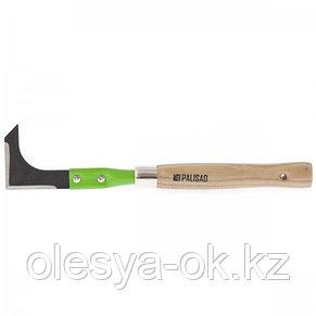 Нож для подрезки травы, деревянная рукоятка, 330 мм. PALISAD, фото 2