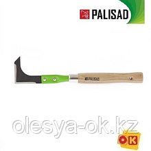 Нож для подрезки травы, деревянная рукоятка, 330 мм. PALISAD