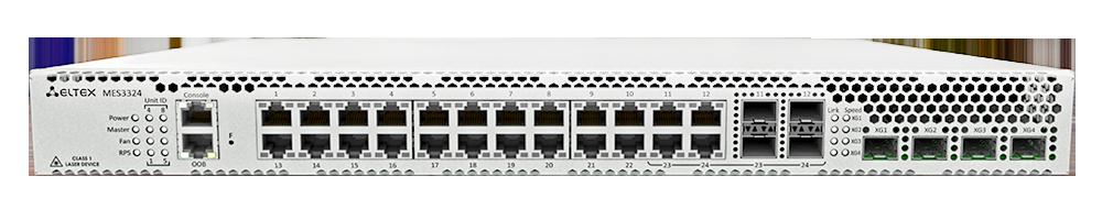 Ethernet-коммутаторы агрегации Eltex MES3324