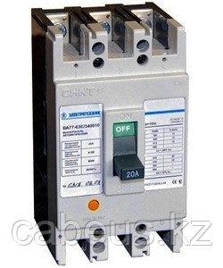 ВА77-63С-340010-10А У3 (стационарный, 3P, 10In, 15кА), выключатель автоматический  (ЭТ)