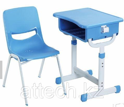Детский письменный стол K02(стол KZ12+ стул H01)