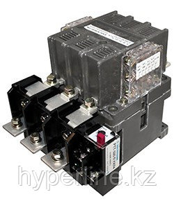 ПМ12-160200-ЭК УХЛ4 В, 380В/50Гц, 4з+2р, 160А, нереверсивный, с реле РТТ-426  106-143А, IP00, пускатель