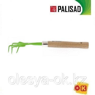 Рыхлитель пятизубый, деревянная рукоятка, 330 мм. PALISAD