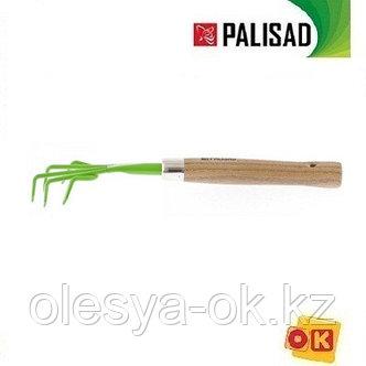 Рыхлитель пятизубый, деревянная рукоятка, 330 мм. PALISAD, фото 2