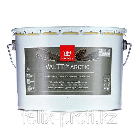 VALTTI ARCTIC перламутровая фасадная лазурь на основе натур. масла  2,7 л.