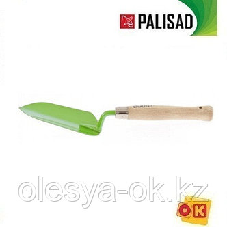 Совок посадочный узкий, деревянная рукоятка, 350 мм. PALISAD, фото 2