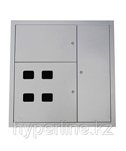 Корпус ЩЭ-36Д УХЛ4, 6-ти квартирный, DIN-рейки для счетчиков, RAL7035, IP30  (ЭТ)