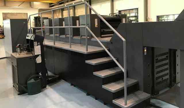 4-красочная печатная машина Heidelberg SM 74-4-PH , 4 краски , высокая приемка, 2011г, 34 мил.отт