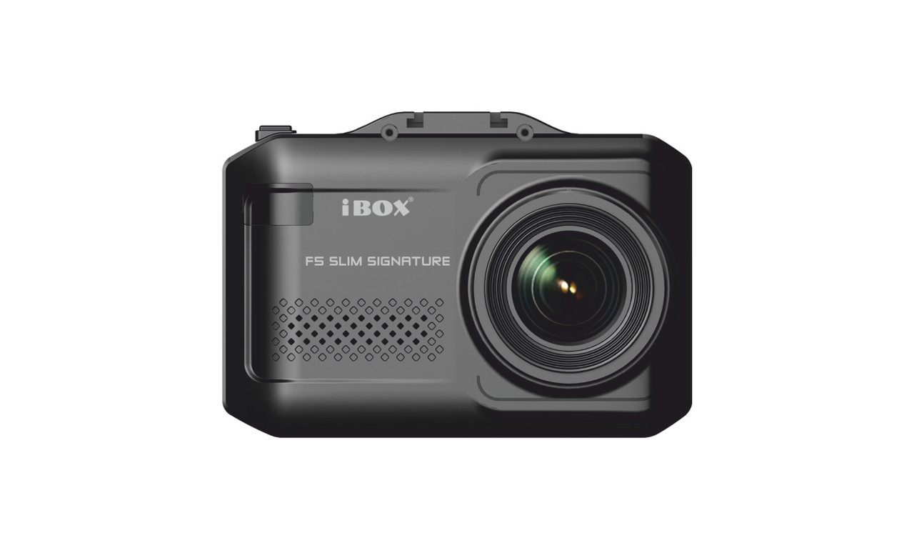IBox F5 SLIM Signature A12, видеорегистратор, радар детектор, база камер, GPS