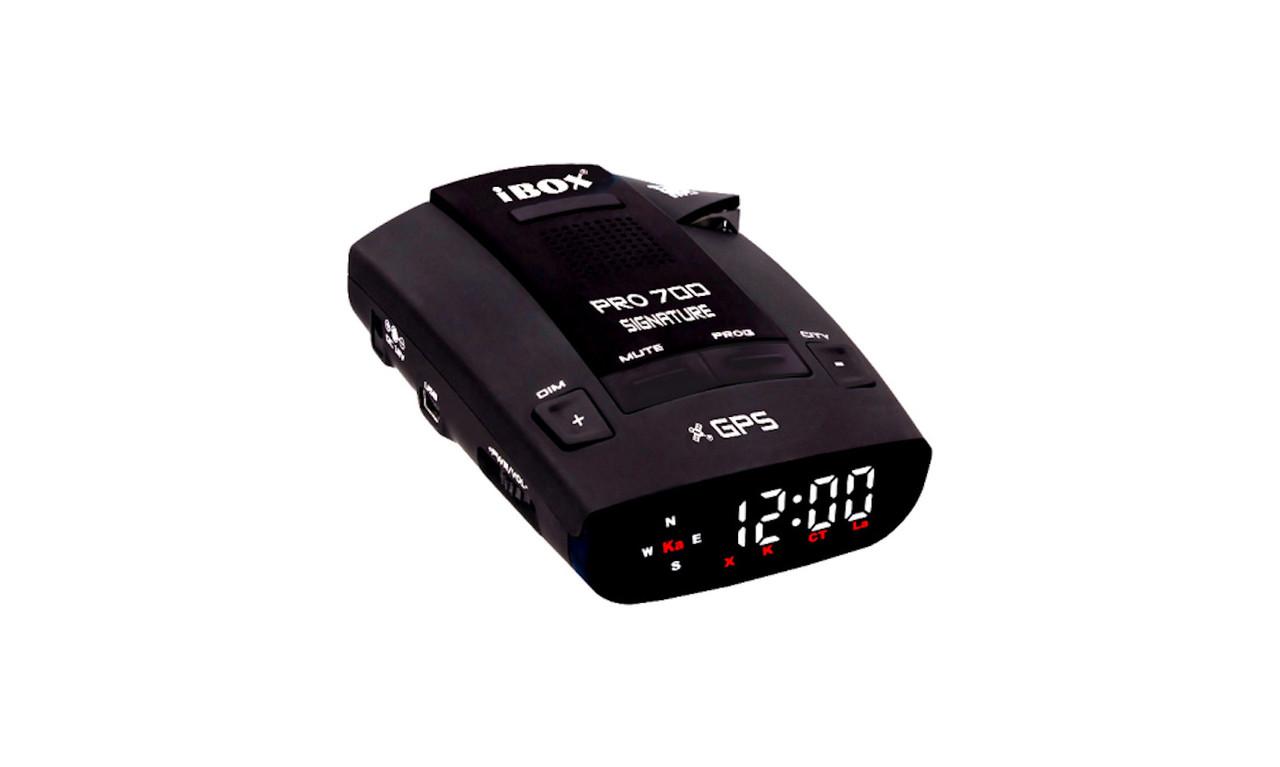 IBox Pro 700 Signature, база камер, GPS