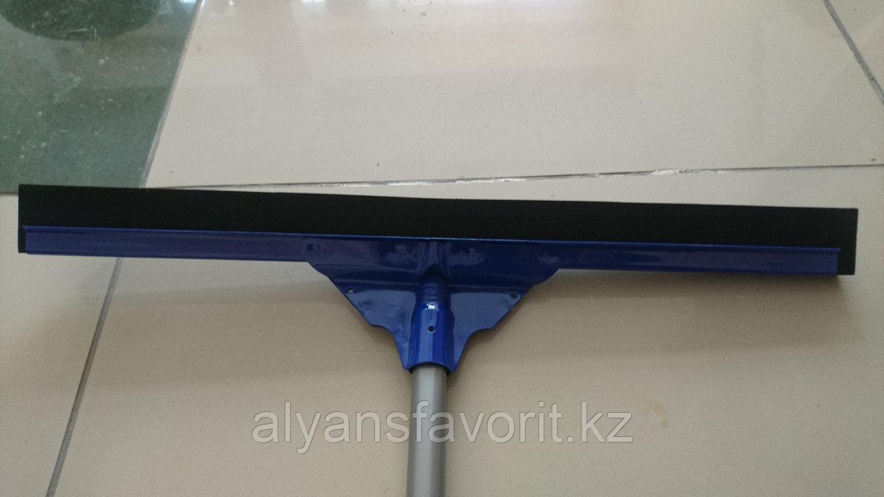 Флаундер - насадка для мытья плитки (камень, кафель), металл, 55см