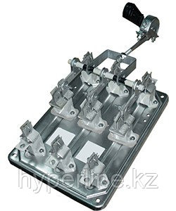 РПЦ-16 УХЛ3, 1600А, центральный привод, без предохранителей, IP00, разъединитель-предохранитель  (ЭТ)