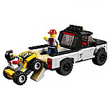 """Конструктор Bela Urban 10649 (аналог Lego City 60148) """"Гоночная команда"""", 253 детали, фото 4"""