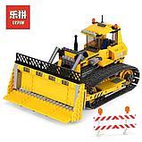 Конструктор lego LEPIN 02074 Бульдозер Genuine 394Pcs Technic Series Аналог Лего City 7685, фото 2