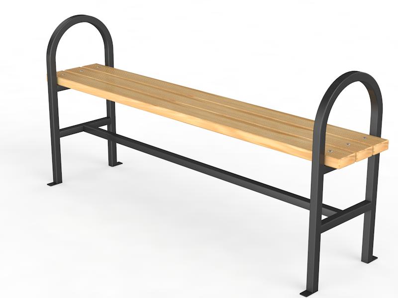 """Уличная скамейка без спинки. """"Консоль"""""""