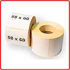 Термоэтикетка самоклеющаяся 58*60 мм (400 эт/рул), фото 2