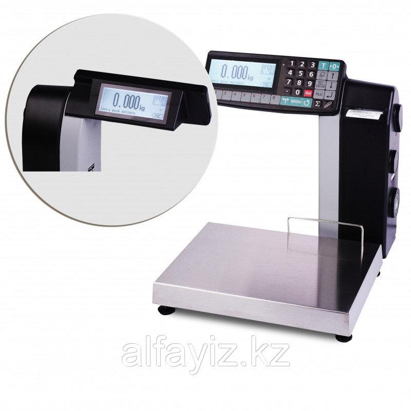 Весы торговые с печатью этикеток МАССА-К МК-6.2-R2L-10-1 (15,32)
