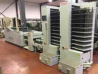 Листоподборщик HORIZON VAC-100am+SPF-200+FC-200+ST-40 + SA-40 джоггер-накопитель, 2006 год, 5 млн буклетов