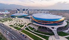 ALMATY ARENA - главный спорткомплекс построенный к зимней Азиаде 2017 в Алматы