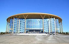 Барыс-Арена - многофункциональный ледовый дворец  — спортивный комплекс в Астане, домашняя арена местного ХК «Барыс», выступающего в Континентальной хоккейной лиге.