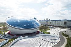 Многофункциональное здание «Назарбаев Центра» имеет площадь более 28 тысяч квадратных метров и состоит из 9 этажей.