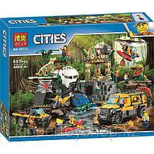"""Конструктор Bela 10712 City """"База исследователей джунглей"""" (аналог LEGO 60161)"""