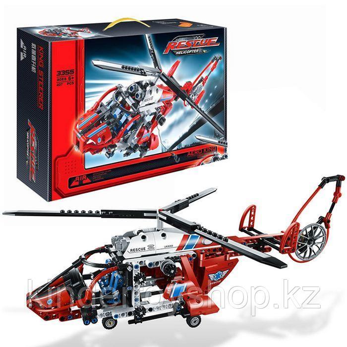КОНСТРУКТОР DECOOL 3355 Спасательный вертолёт 407 дет. аналог Лего Техник (LEGO Technic 8068)