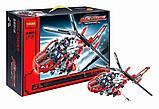 КОНСТРУКТОР DECOOL 3355 Спасательный вертолёт 407 дет. аналог Лего Техник (LEGO Technic 8068), фото 2