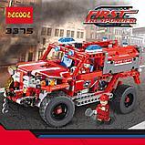 """Конструктор Decool Technic 3375 (Аналог Lego Technic 42075) """"джип служба быстрого реагирования"""" 513 деталей, фото 3"""