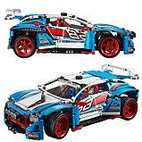 """Конструктор Lepin 20077 Bela Technic 10826 Гоночный автомобиль 2в1"""" (аналог Lego Technic 42077) 1005 дет, фото 2"""