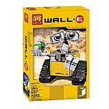Конструктор Lepin16003 Ideas ВАЛЛ-И  (Аналог LEGO Ideas Wall-E 21303 ) количество деталей: 687 шт., фото 3
