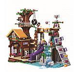 Конструктор Leduo Friends Lepin 01047 / Спортивный лагерь: дом на дереве (аналог LEGO 41122, 784 дет.), фото 3